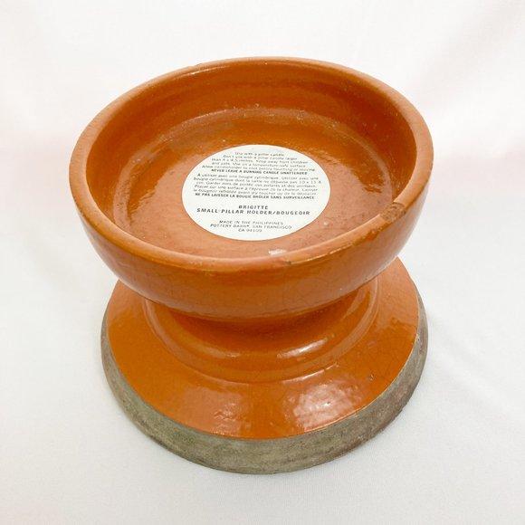 Pottery Barn Brigitte Terracotta Candle Holder